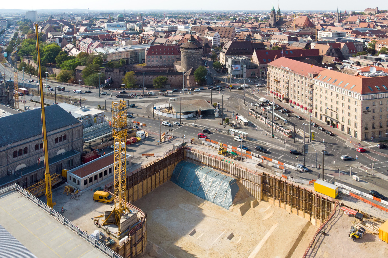 Erdbauunternehmen / Tiefbauunternehmen in Franken und der Metropolregion Nürnberg